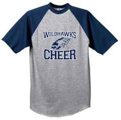 Wildhawks Cheer Baseball Jersey