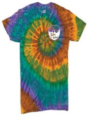Wandering Sole Sisters Performance Tie Dye Short Sleeve