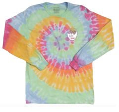 Wandering Sole Sisters Performance Tie Dye Long Sleeve