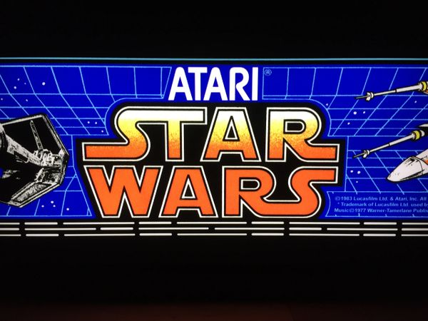Star Wars Classic Arcade Art
