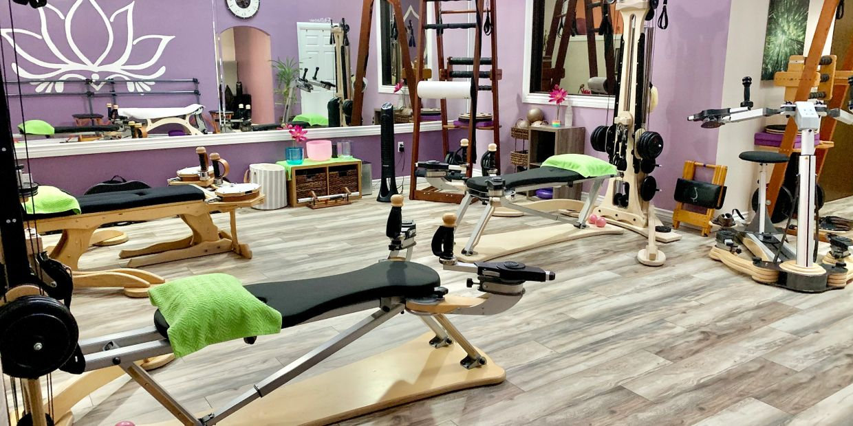 Our Studio offers the full selection of Gyrotonic Method equipment