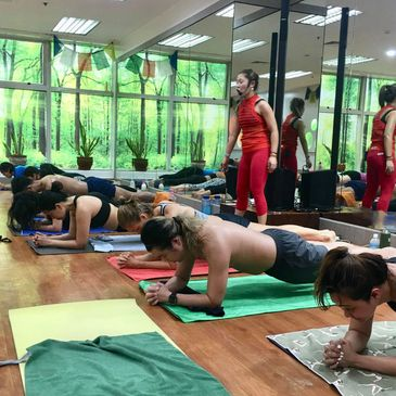 Inferno Hot Pilates - Makati