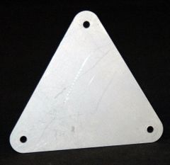 PARACHUTE PACK MOUNTING PLATE/ TITANIUM