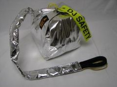 DJ SAFETY S/G S/C PARACHUTE SILVER
