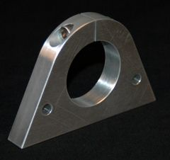 NOSE WING SPAR TUBE CLAMP/ MAGNESIUM