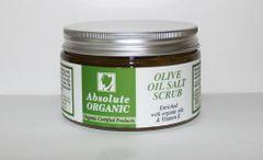 Absolute Organic Certified Organic Olive Oil Dead Sea Salt Scrub 14.81oz