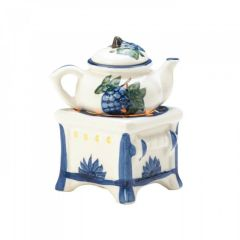 Teapot Stove Oil Porcelain Warmer