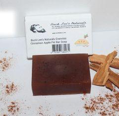 Buck Lee's Naturals Glycerin Hempseed Oil Grannies Apple Pie Shampoo & Body Bar