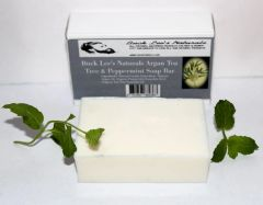 Buck Lee's Naturals Argan Tea Tree & Peppermint Soap Bar