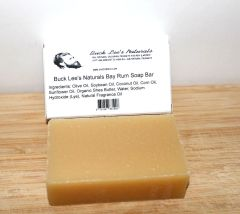 Buck Lee's Naturals Natural Bay Rum Body And Shampoo Bar 4.8oz