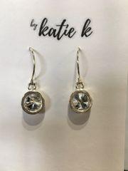 By Katie K Bezelled Earring