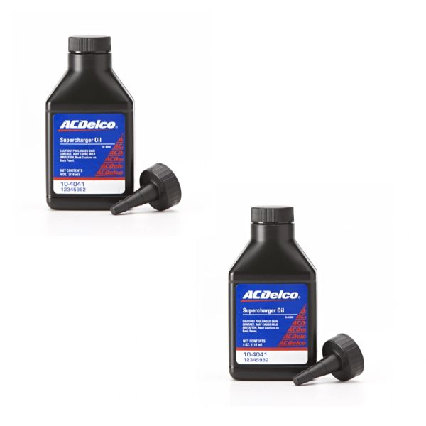 4 oz Bottle of Genuine GM OEM AC Delco Eaton Supercharger Oil