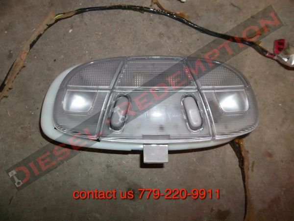 ford e150 e250 e350 e450 used dome light with wiring harness free shipping  to continental us only | diesel redemption