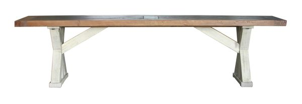 Bavaria FSC Large Dining Bench in Two Tone