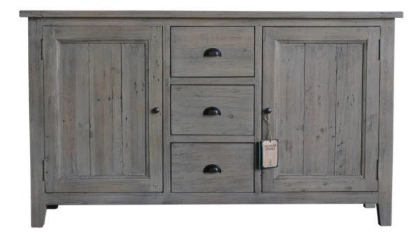 New England FSC Large Sideboard in salvage grey