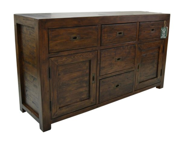 Coventry FSC Large Sideboard in coffee bean