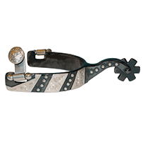 Men's Trim and Dots Western Spurs