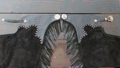 Embossed Hornback Gator Trim Custom Chaps