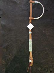 Show Headstall with diamond buckle
