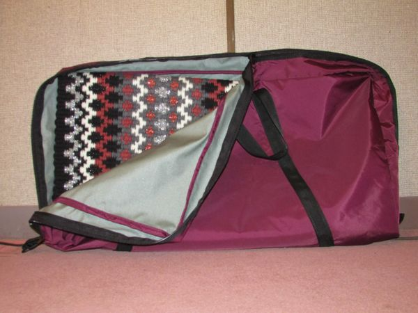 Unpadded Saddle Pad Carrier