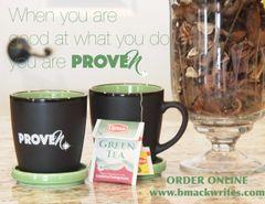 PROVEN Coffee Mug with Coaster/Lid