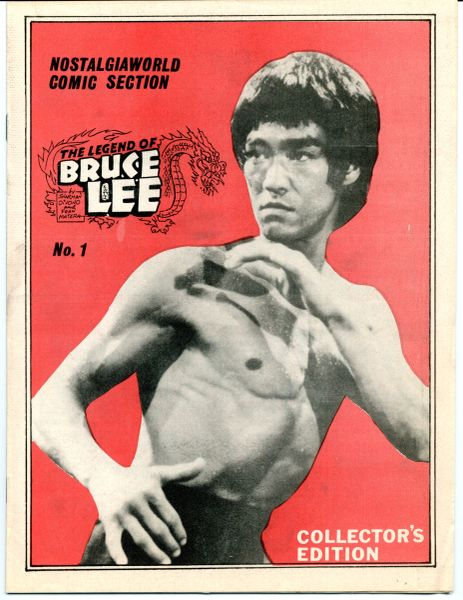 BRUCE LEE, THE LEGEND OF, NOSTALGIA WORLD COMICS ISSUES 1 AND 2