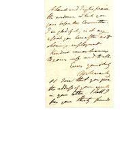 THOMAS BABINGTON MACAULAY HANDWRITTEN LETTER SIGNED