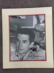 ANTHONY PERKINS SIGNED PHOTO MUSEUM-QUALITY, DOUBLE-MATTED