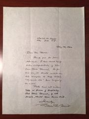 WILLIAM ROSE BENET HANDWRITTEN LTR SIGNED PULITZER PRIZE POETRY FOUNDER SATURDAY REVIEW