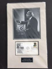 YOUSUF KARSH SIGNED MATTHEW BRADY 1978 FIRST DAY OF ISSUE POSTAL COVER, CELEBRATING PHOTOGRAPHY THE UNIVERSAL LANGUAGE