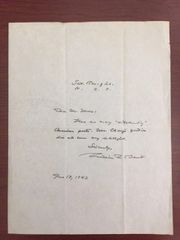 WILLIAM ROSE BENET HANDWRITTEN LTR SIGNED PULITZER PRIZE POETRY THE SATURDAY REVIEW