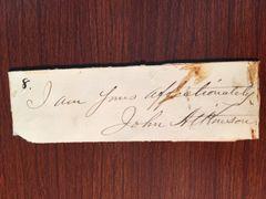 JOHN ATKINSON SIGNED AUTHOR WE SHALL MEET BEYOND THE RIVER GOSPEL HYMN