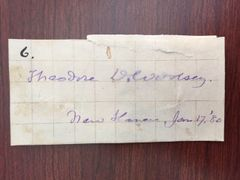 THEODORE D. WOOLSEY SIGNED SLIP PRESIDENT OF YALE 1846-71, AUTHOR