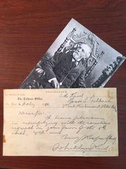 WHITELAW REID HANDWRITTEN LTR. SIGNED VICE-PRESIDENT NOMINEE, H. GREELEY, POLITICIAN, OHIO IN CIVIL WAR