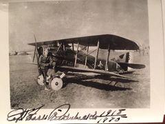 EDDIE RICKENBACKER SIGNED PHOTO WWI ACE, MEDAL OF HONOR, INDPLS 500 OWNER