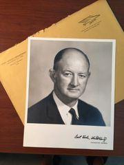 WINTON M. BLOUNT SIGNED PHOTO BLOUNT INTERNATIONAL, POSTMASTER GENERAL