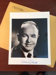 WILLIAM T. CAHILL SIGNED PHOTO, U.S. CONGRESSMAN, 46TH GOV. OF NEW JERSEY