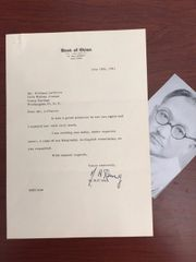 H.H. KUNG TYPED LETTER SIGNED PREMIER CHINESE NATIONALIST GOVERNMENT