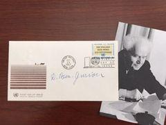 DAVID BEN-GURION SIGNED COVER, ISRAEL FOUNDER & FIRST PRIME MINISTER, SIX-DAY WAR