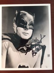 ADAM WEST SIGNED 8 X 10 PHOTO AS BATMAN