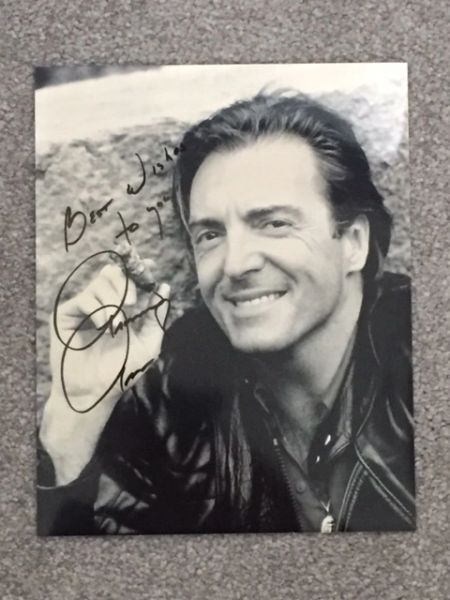 ARMAND ASSANTE SIGNED PHOTO, AMERICAN TELEVISION & FILM ACTOR