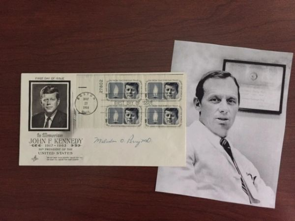 DR. MALCOM O. PERRY, SURGEON FOR JOHN F. KENNEDY, OSWALD, & CONNALLY