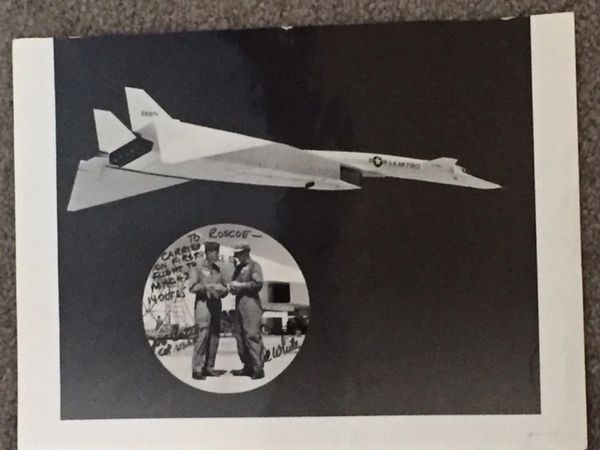 AL WHITE & JOE COTTON BOTH SIGNED TWICE, VALKYRIE SUPERSONIC, ROSCOE TURNER
