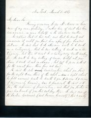 ROBERT DALE OWEN HANDWRITTEN LETTER SIGNED BY FAMOUS AMERICAN SOCIAL REFORMER AND ANTI-SLAVERY POLITICIAN