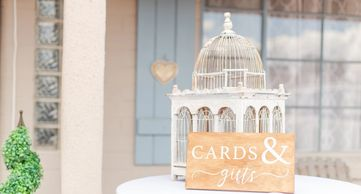 Birdcage Card Box