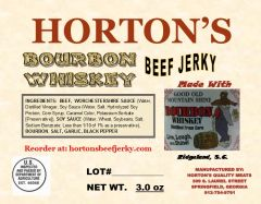 Bourbon Whiskey Beef Jerky