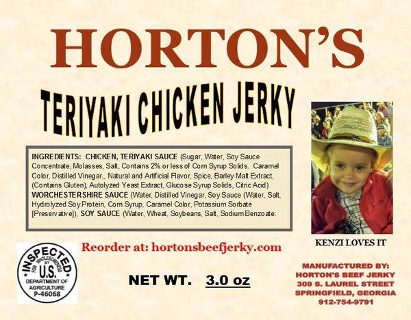 Teriyaki Chicken Jerky