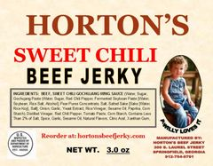 Sweet Chili Beef Jerky