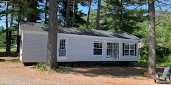 own a park model home own a cottage land leasing Forest River maintenance free cottaging