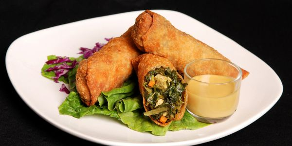 The Original Collard Green Egg Rolls